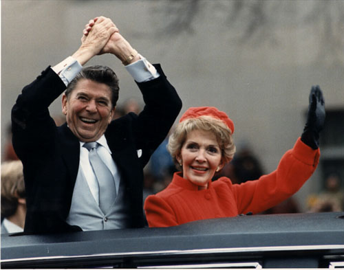 Ronald Reagan – Inauguration and Freed Hostages