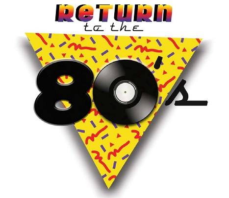 Return to the 80s logo