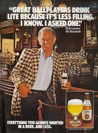 Quote of the day bob uecker miller light commercial return to the 80s miller lite bob ueckers front row commercial aloadofball Gallery