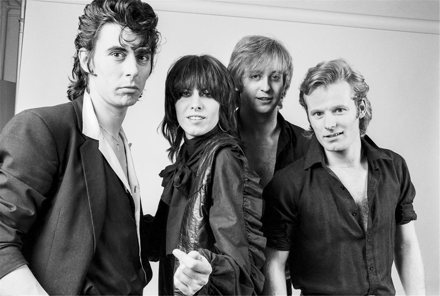 Pretenders group studio NEW YORK CITY, 1980996